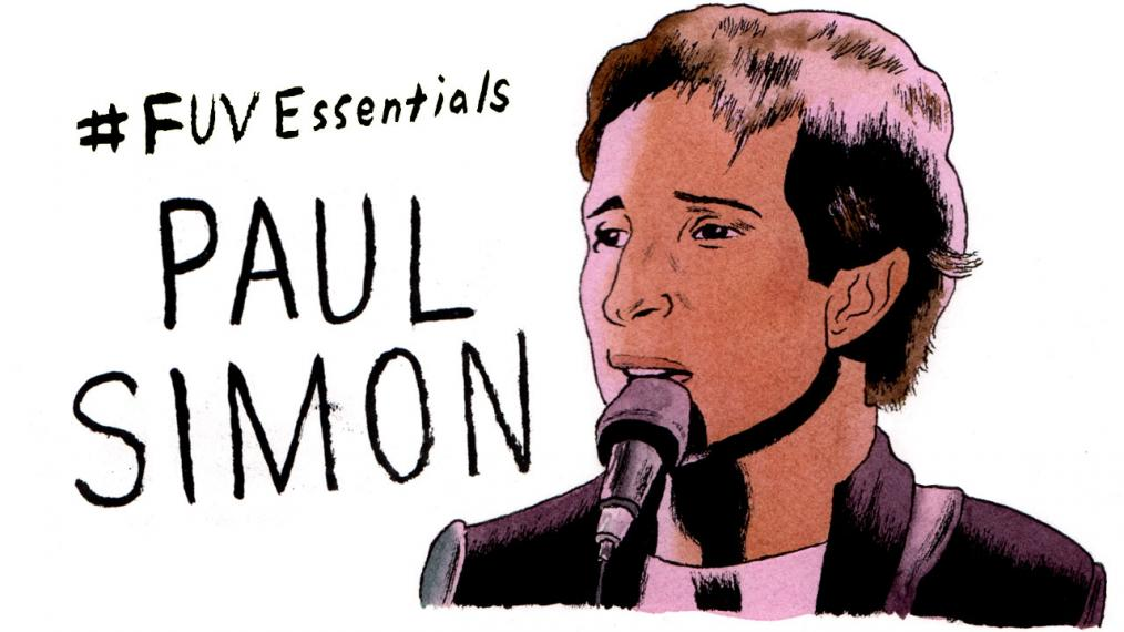 Paul Simon (illustration by Andy Friedman)