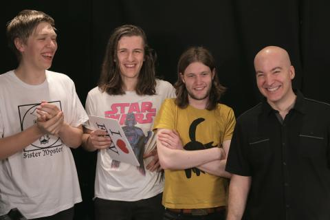 Drenge with Eric Holland at WFUV