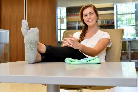 Makena Masterson founded Snoxsocks