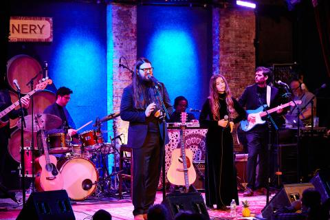 Flo Morrissey and Matthew E. White at City Winery