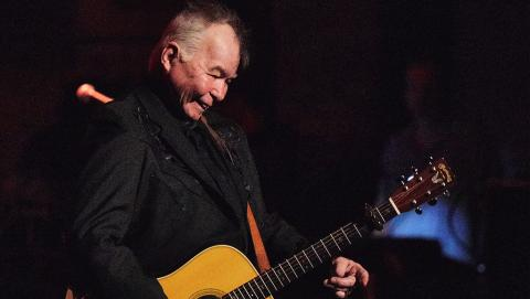John Prine (Photo by Neal Swanson for WFUV)