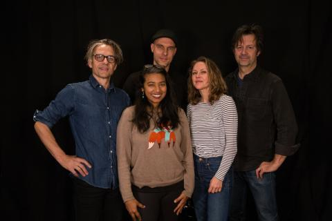 Luna with Alisa Ali at WFUV