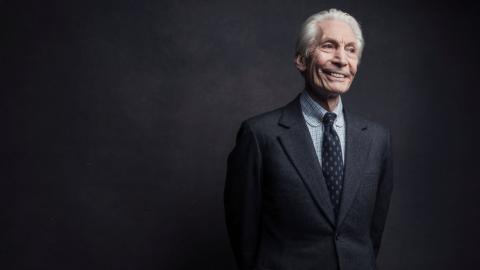 Charlie Watts (photo by Victoria Will/Invision/AP Photo)