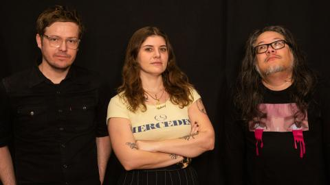 Best Coast in Studio A (photo by Olivia Brewer/WFUV)