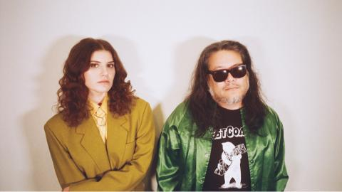 Bethany Cosentino and Bobb Bruno of Best Coast (photo by Kevin Haynes, PR)