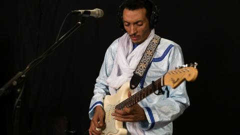Bombino (photo by Brian Gallagher/WFUV)