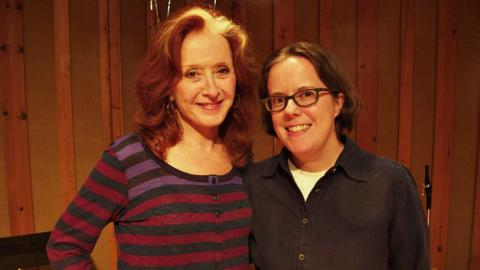 Bonnie Raitt with FUV's Sarah Wardrop in 2012