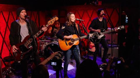 Brandi Carlile at Rockwood Music Hall (photo by Gus Philippas/WFUV)