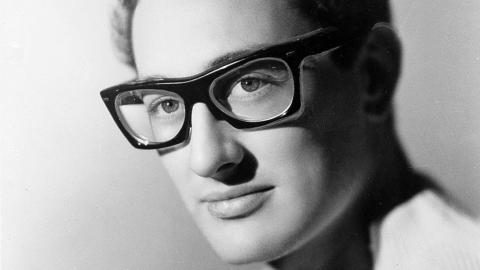 Buddy Holly in 1959 (AP Photo, file)