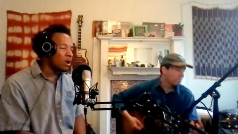 """""""Marquee Live at Home"""" with Cautious Clay, joined by guitarist Chris Kyle"""
