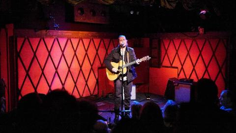 Citizen Cope at Rockwood Music Hall (photo by Gus Philippas/WFUV)