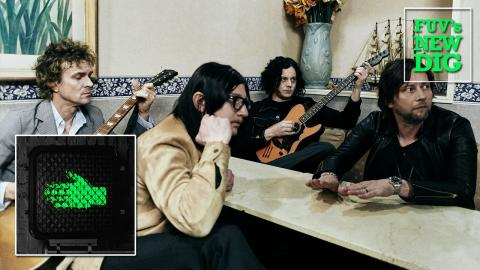 The Raconteurs (photo by David James Swanson, PR)