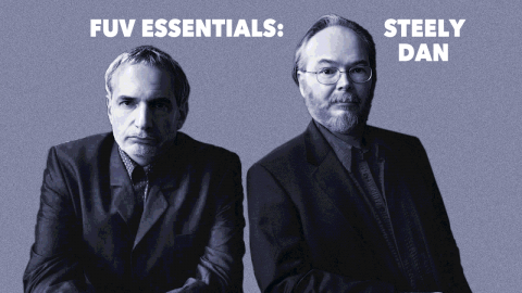 Steely Dan's Donald Fagen and the late Walter Becker (photo by Danny Clinch, PR)