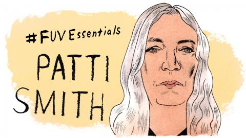 Patti Smith (illustration by Andy Friedman)