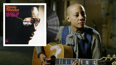 Gail Ann Dorsey (photo from the artist's private collection)