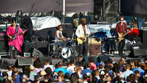 From our 'Summer of FUV' line-up: Gary Clark Jr. (photo by Gus Philippas/WFUV)