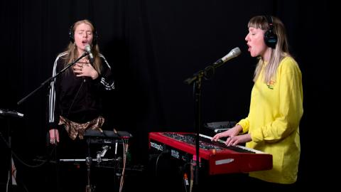 IDER in Studio A (photo by Nora Doyle/WFUV)