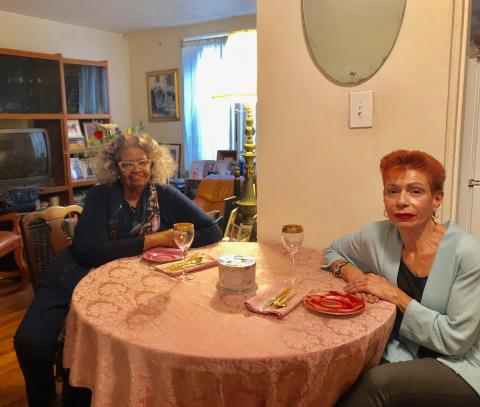 Senior roommates thanks to the New York Foundation for Senior Citizens