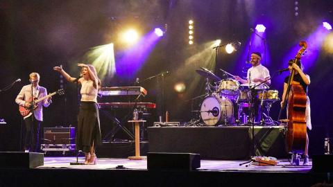 From our 'Summer of FUV' line-up: Lake Street Dive (photo by Gus Philippas/WFUV)