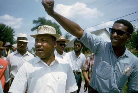 Martin Luther King, Jr. (Photo by Bob Fitch from AP Images)
