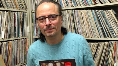 Paul Cavalconte (photo courtesy of WFUV)