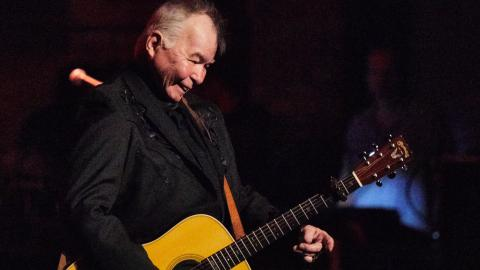 John Prine in 2018 (Photo by Neal Swanson/WFUV)