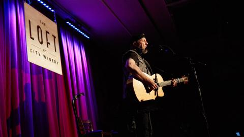Richard Thompson (photo by Gus Philippas/WFUV)