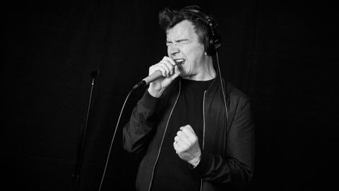 Rick Astley at WFUV