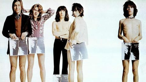 Rolling Stones Sticky Fingers print ad