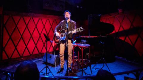 Rufus Wainwright at Rockwood Music Hall (photo by Gus Philippas/WFUV)