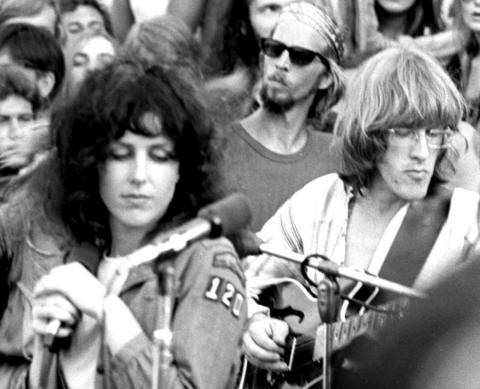 Grace Slick & Paul Kantner (Photo: Dan Dan Shannon from jeffersonairplane.com)