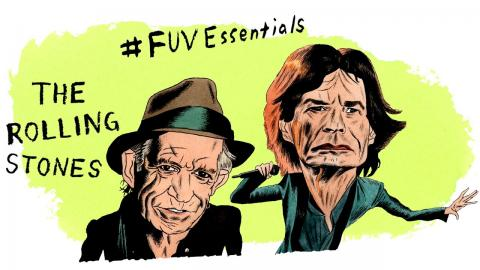 FUV Essentials: The Rolling Stones (illustration by Andy Friedman)