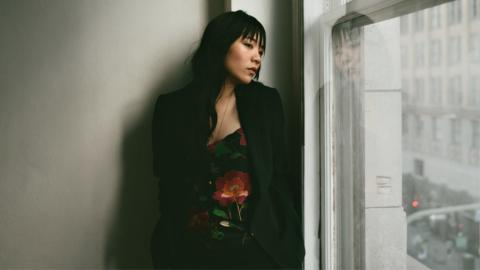 Thao Nguyen of Thao and the Get Down Stay Down (photo by Shane McCauley, PR)