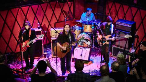 FUV Live with The Breeders (photo by Gus Philippas/WFUV)