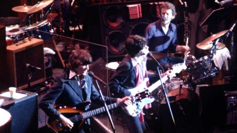 "The Band in ""The Last Waltz."""