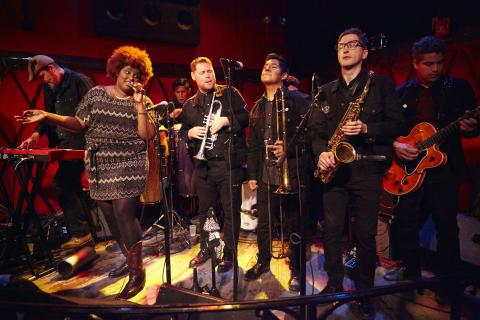 The Suffers (photo by Gus Philippas, WFUV)