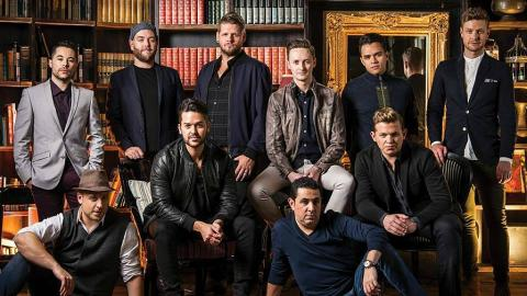 The Ten Tenors (cover of the group's new album, 'Wish You Were Here')
