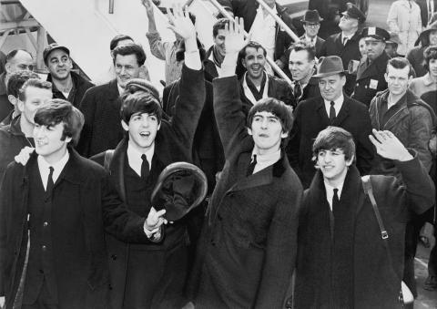 The Beatles (Photo from Library of Congress via Wikipedia)
