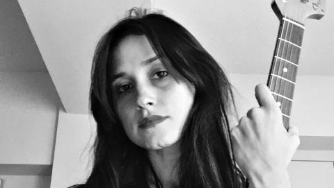 Warpaint's Theresa Wayman (courtesy of the artist, PR)
