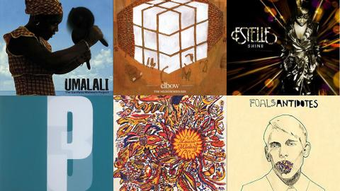 Albums released in 2008 (collage by Laura Fedele, WFUV)