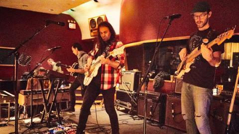 The War on Drugs at Electric Lady Studios