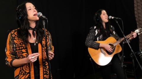 The Watson Twins at WFUV