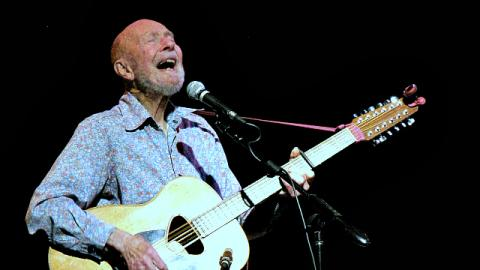 Sunday at 4pm on Woody's Children: Join host Bob Sherman in remembering Pete Seeger.