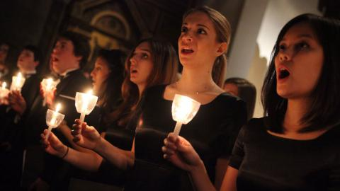 Hear this year's 'Festival of Lessons and Carols' from Fordham University.