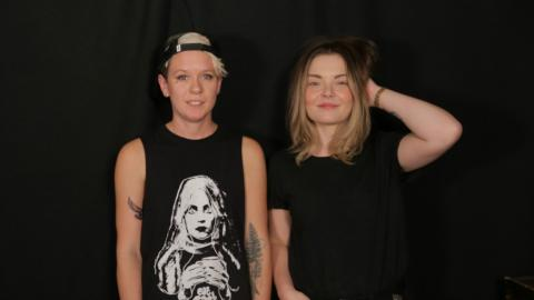 Honeyblood at WFUV