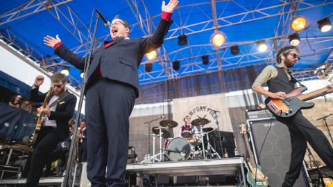 St. Paul & The Broken Bones at Newport Folk Festival