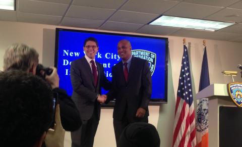 NYC Department of Investigation Creates New Office to Oversee Police Department