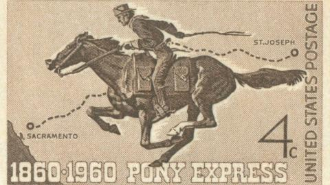 pony-express-postage-stamp