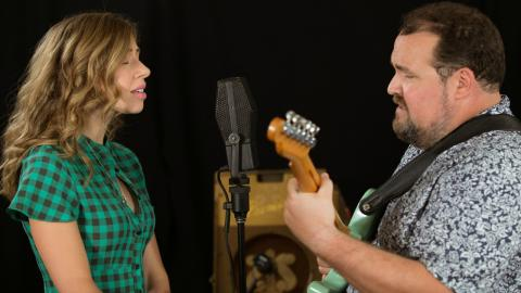 Rachel and Vilray at WFUV