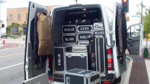 tour-van-music-gear